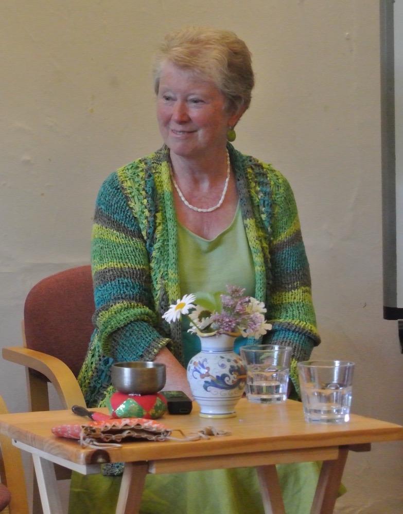 スモール・スクールで14年間、教師を務めていたキャロラインさん。